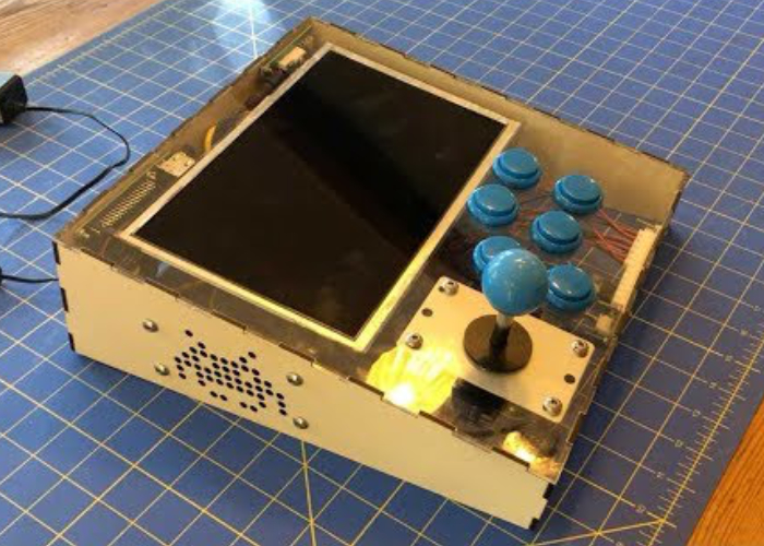 DIY Raspberry Pi RetroPie tabletop arcade